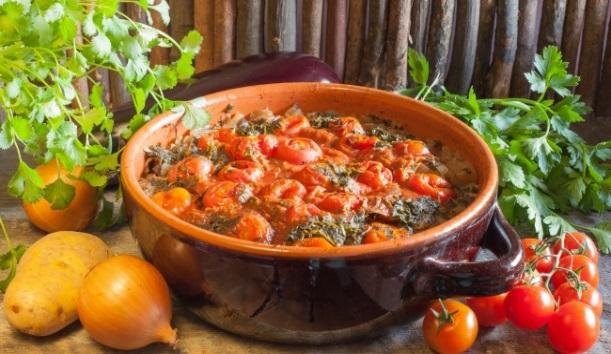 Весенний айлазан. Как приготовить армянское овощное рагу
