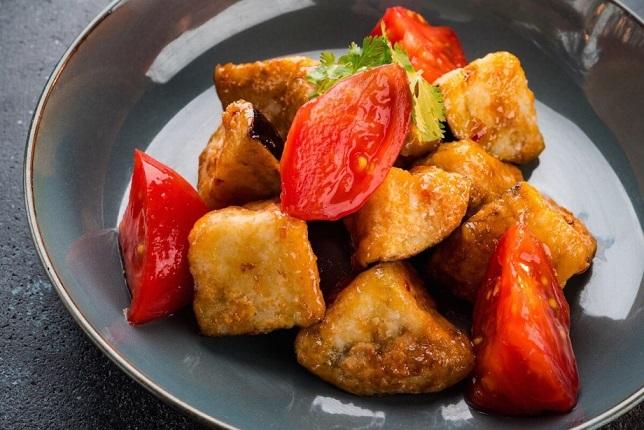Салат с хрустящими баклажанами и кабачками по-армянски