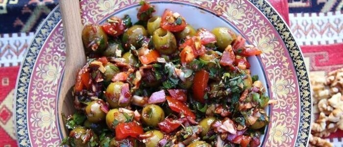 Армянское блюдо Базркани