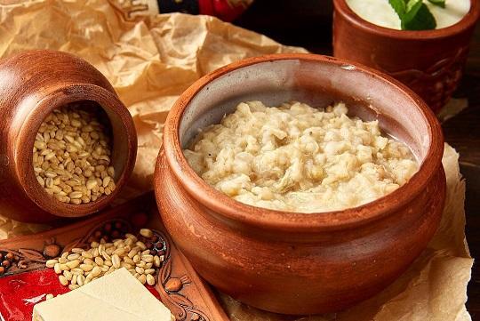Ариса с курицей — армянское национальное мясное блюдо