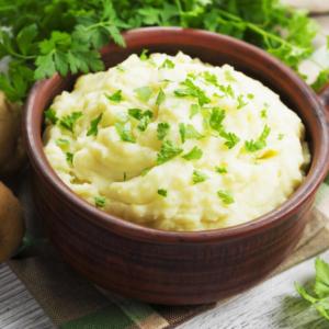 Картошка с молоком и армянским коньяком
