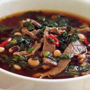 Воспи апур (суп с чечевицей) с говядиной